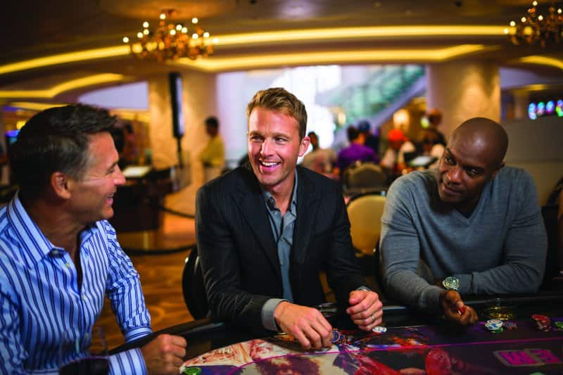 Casinos at Sea: Poker Tournament
