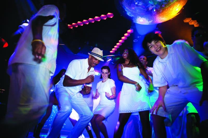 Norwegian Cruise Line White Hot Party