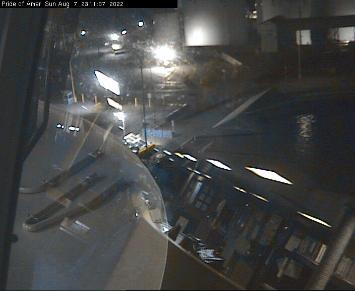 Webcam von der PRIDE OF AMERICA / © Norwegian Cruise Line