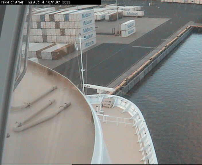 Pride of America WebCam