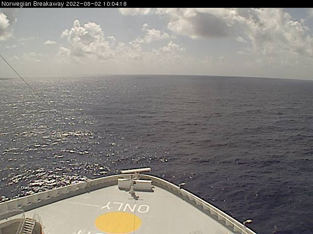 Norwegian Breakaway Webcams Bridge Cam