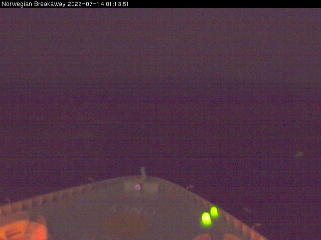 Webcam For The Norwegian Breakaway