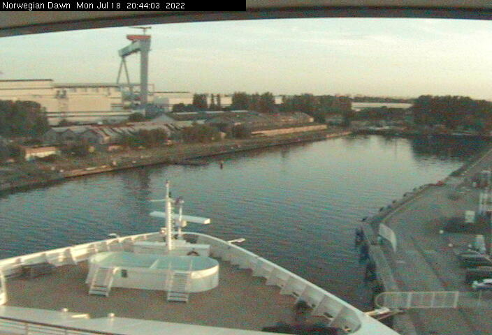 Artania Cruise Ship Webcam