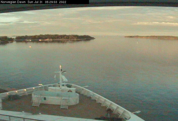 Norwegian Dawn WebCam