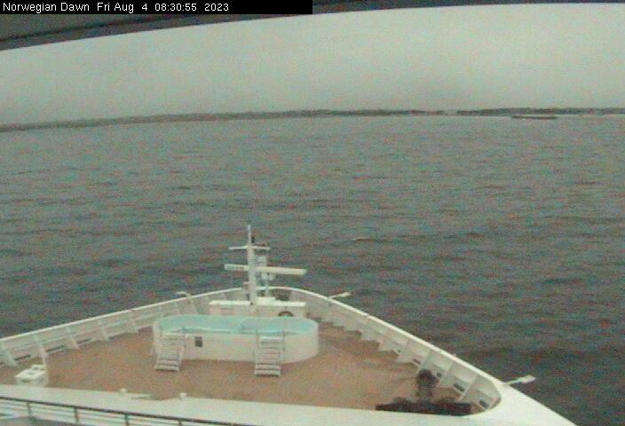 Norwegian Dawn Webcam
