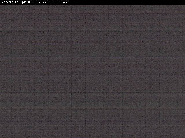 Norwegian Epic WebCam
