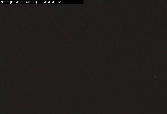 Webcam von der Norwegian JEWEL / © Norwegian Cruise Line