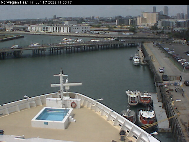 Webcam For The Norwegian Pearl