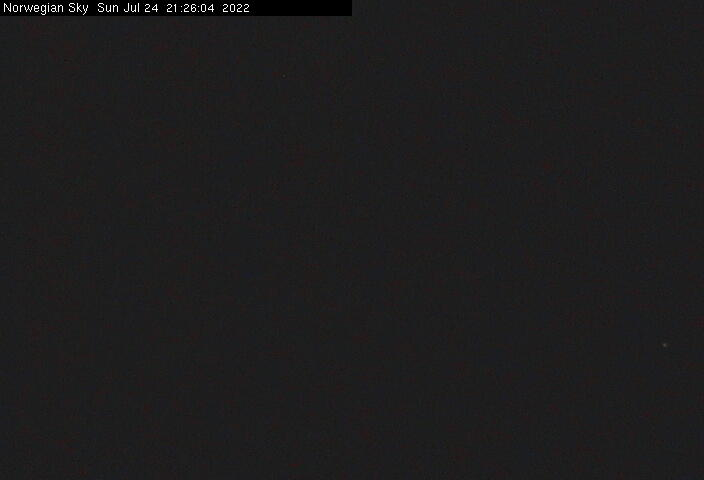 Webcam von der Norwegian SKY / © Norwegian Cruise Line