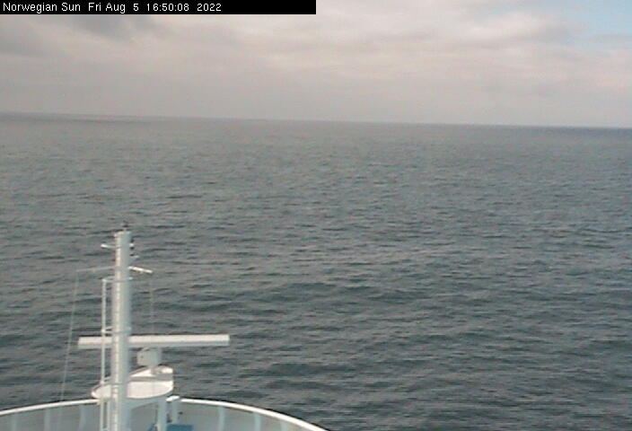 Webcam von der Norwegian SUN / © Norwegian Cruise Line