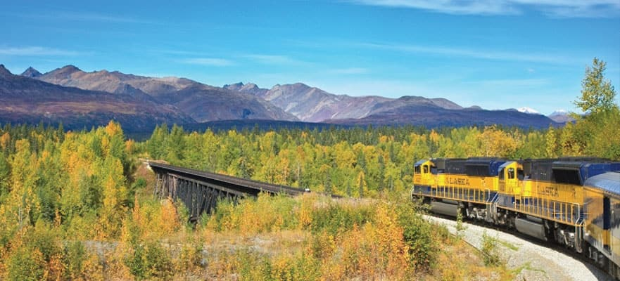 12-Day Denali by Rail Explorer - Southbound Cruise Tour