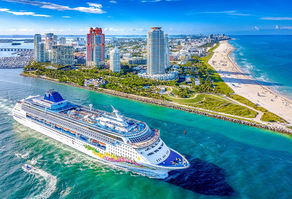 Norwegian Cruise Line sails from Miami