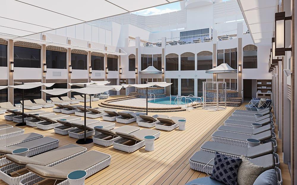 Norwegian Epic - Haven Courtyard