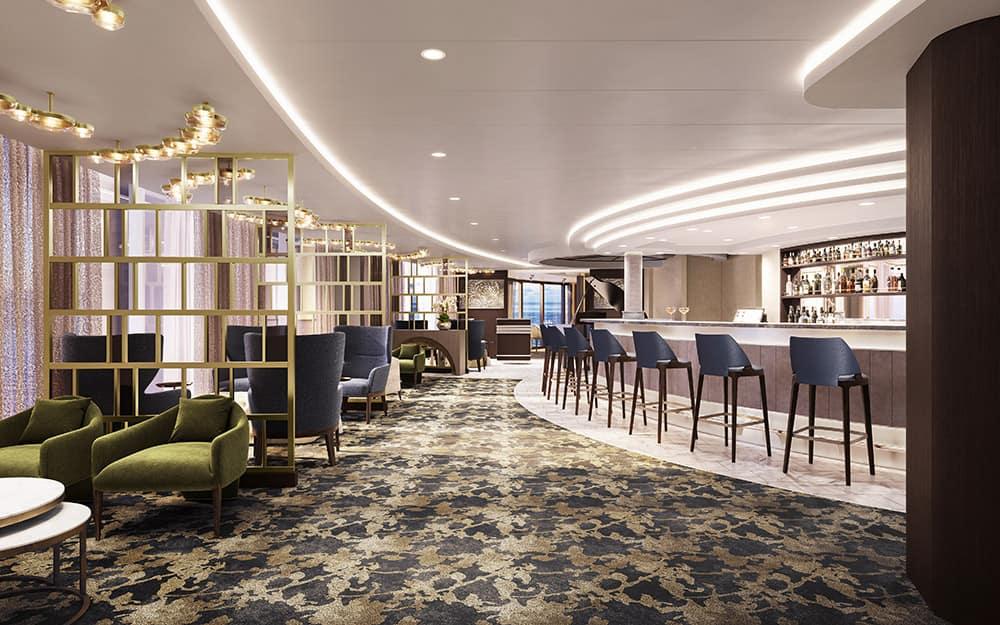 Norwegian Epic Haven Lounge