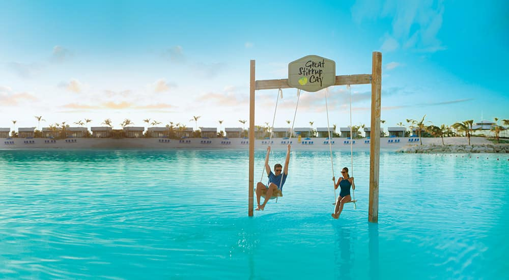 Experience Norwegian's Private Island, Great Stirrup Cay