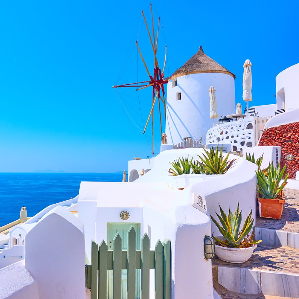 Norwegian Cruise to Oia, Santorini, Greece