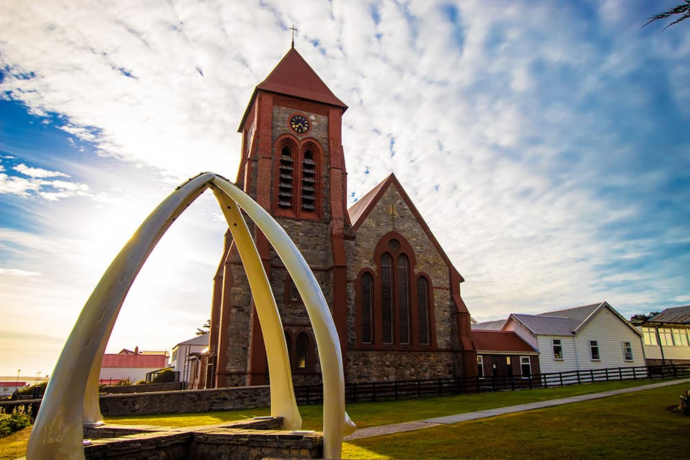 Christ Church Cathedral, Stanley, Falklandinseln (Port Stanley)