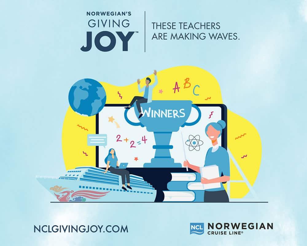 Norwegian Giving Joy Contest Winners