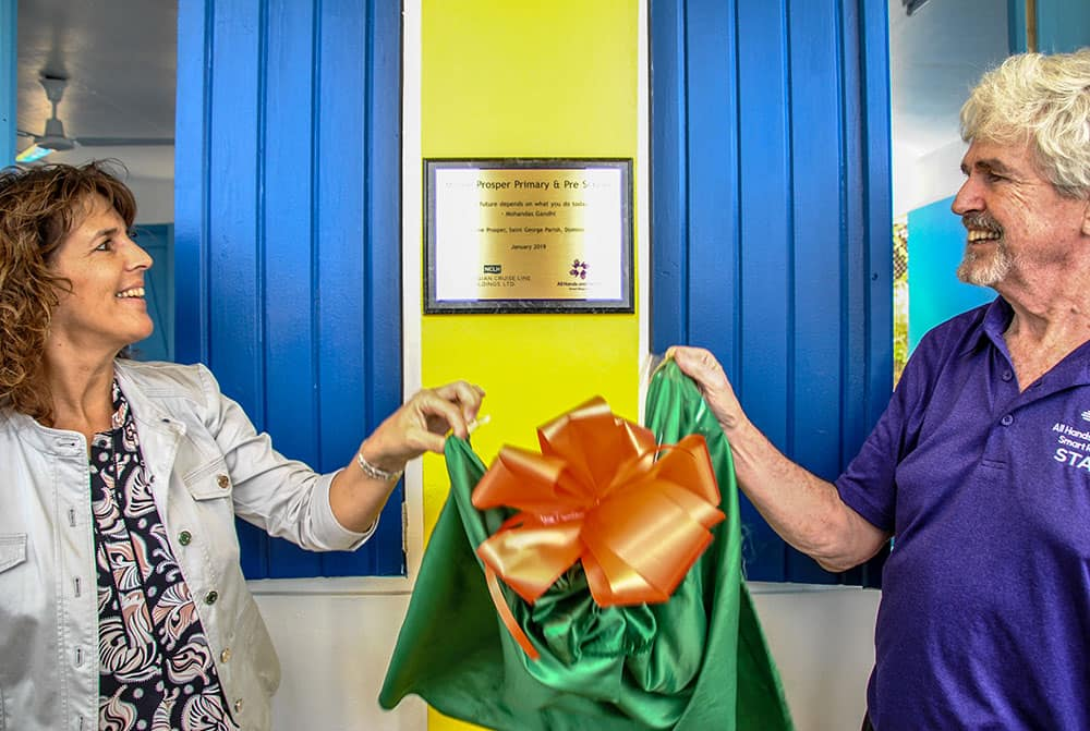 Hope Starts Here: Morne Prosper School Opening