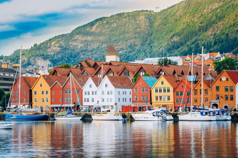Cruise to Colorful Bergen, Norway with Norwegian