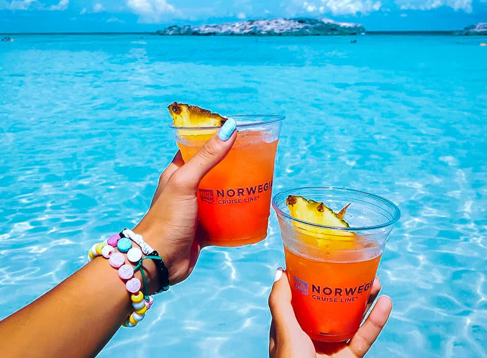 Norwegian Cruise Line's Bermuda Triangle Punch Recipe