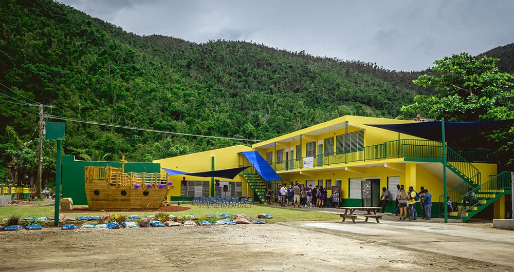 Hope Starts Here Update: Ivan Dawson School Opening