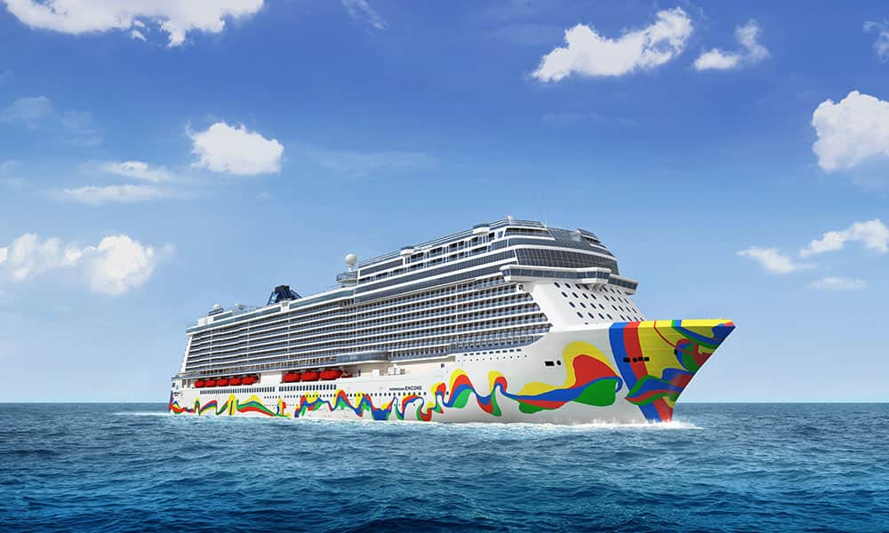 Norwegian Encore Hull Art Unveiled