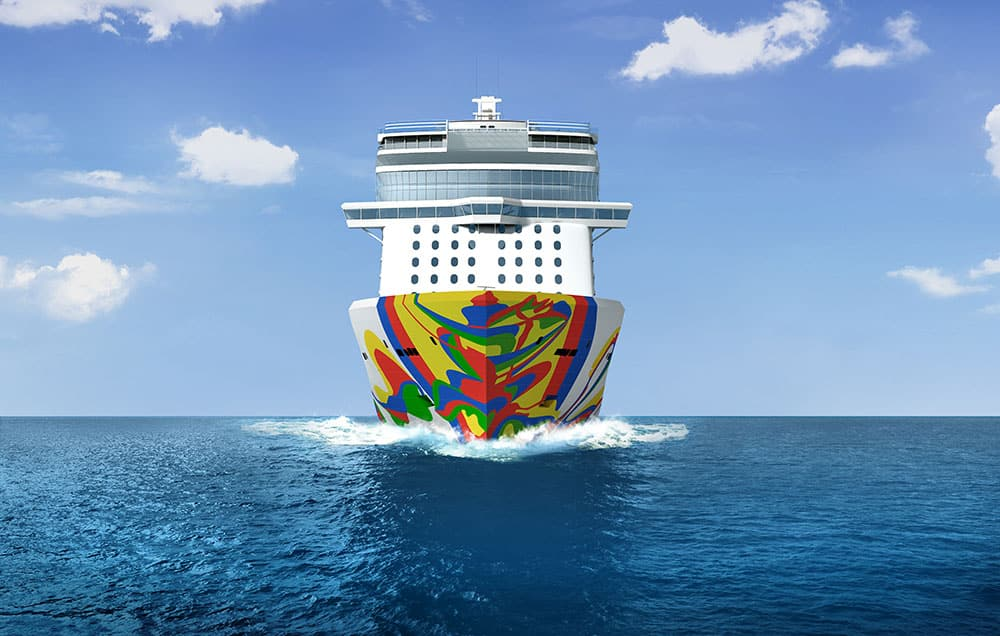 Norwegian Encore Hull Art Unveiled (VIDEO)