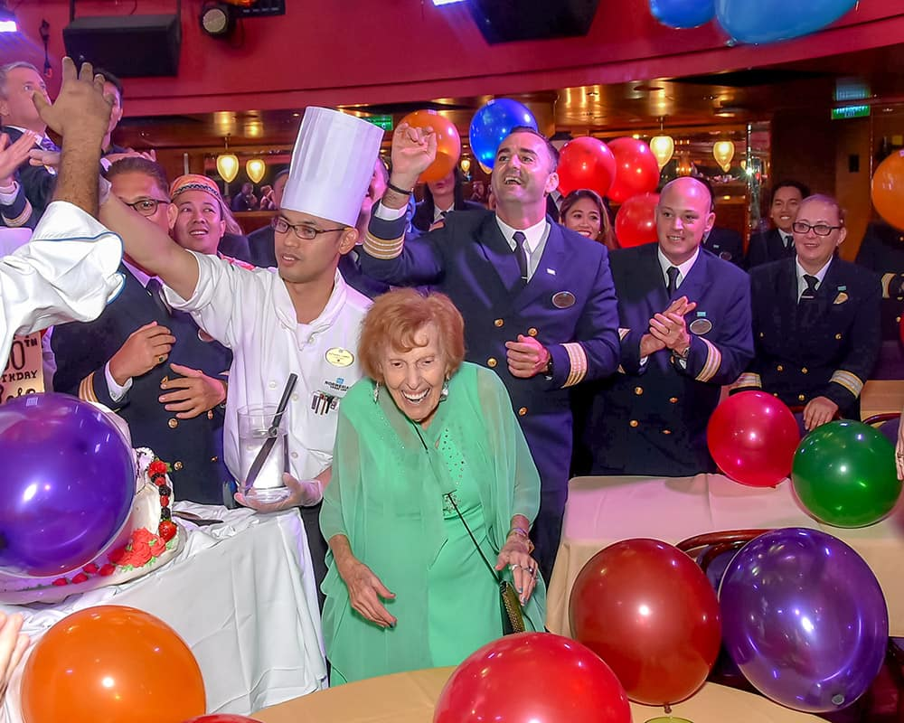 Rose Zelman Celebrates Centennial on Norwegian Epic