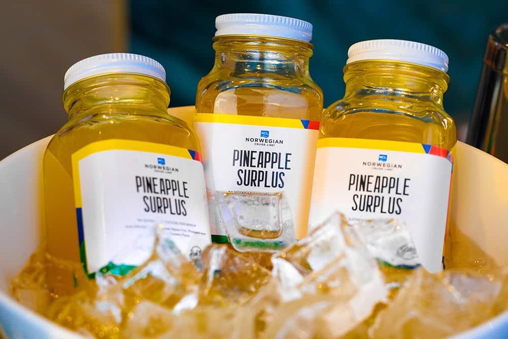 Norwegian Cruise Line Pineapple Surplus
