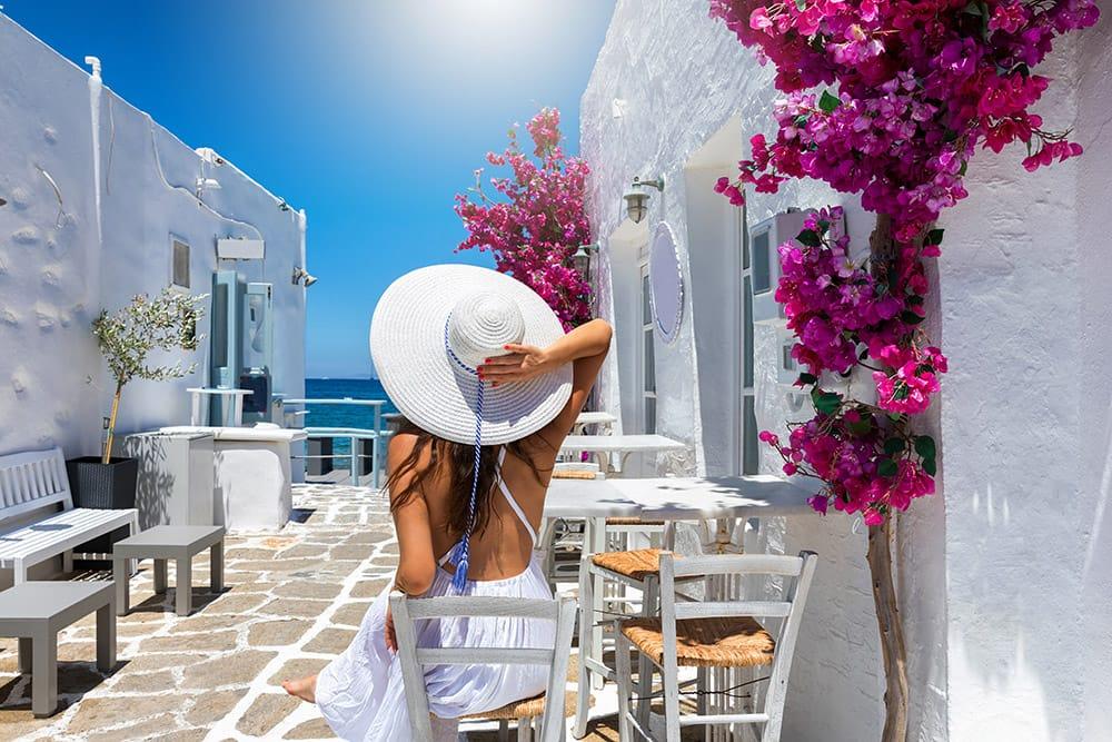 Mykonos Sidewalk Cafe