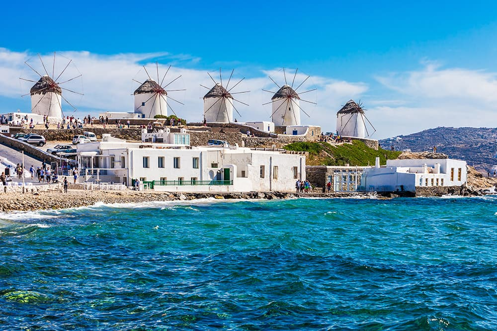 Norwegian Cruise to Greek Isles Mykonos