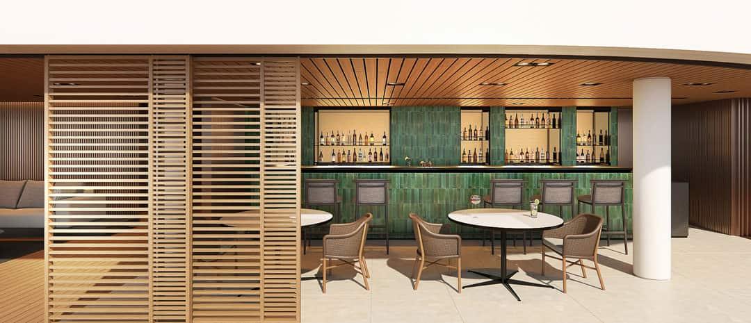 Bar extérieur The Haven