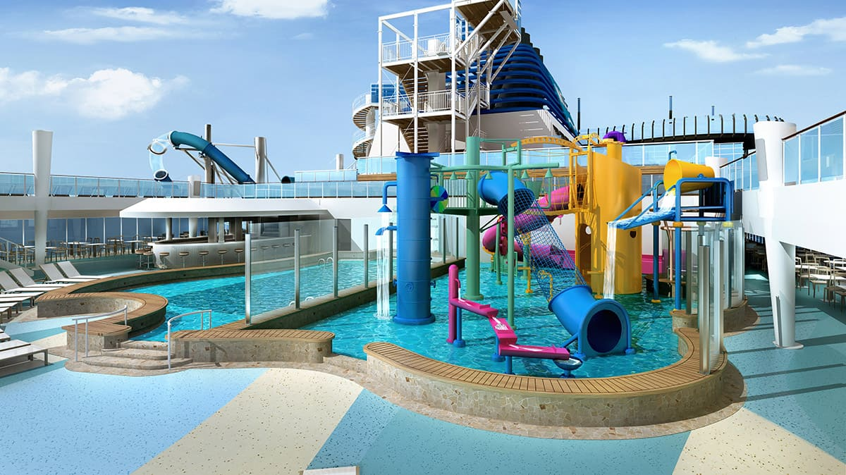 Norwegian Encore Kids' Aqua Park