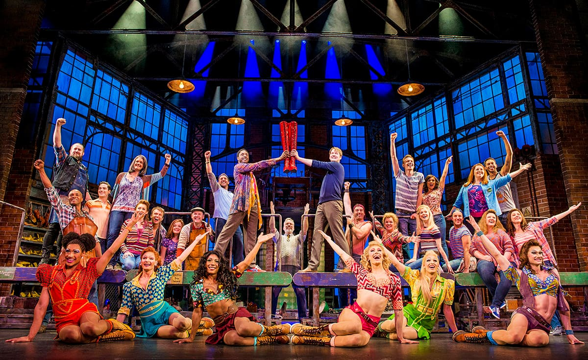 Norwegian Encore Entertainment Revealed: Kinky Boots, The Choir of Man