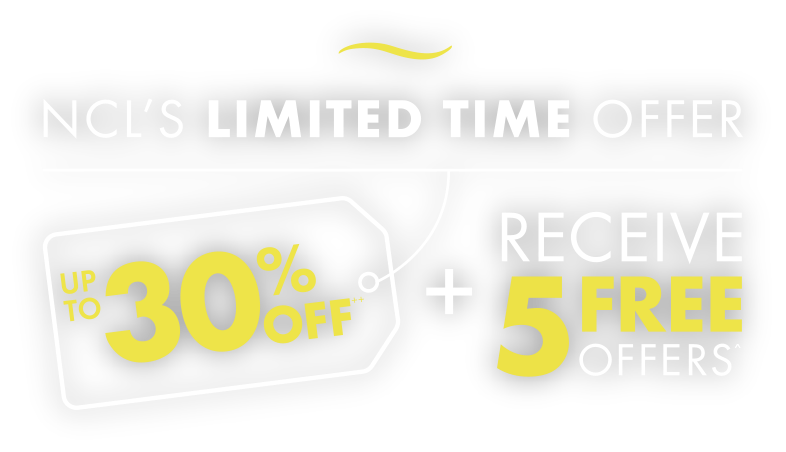 UP TO 30% OFF + RECEIVE 5 FREE OFFERS