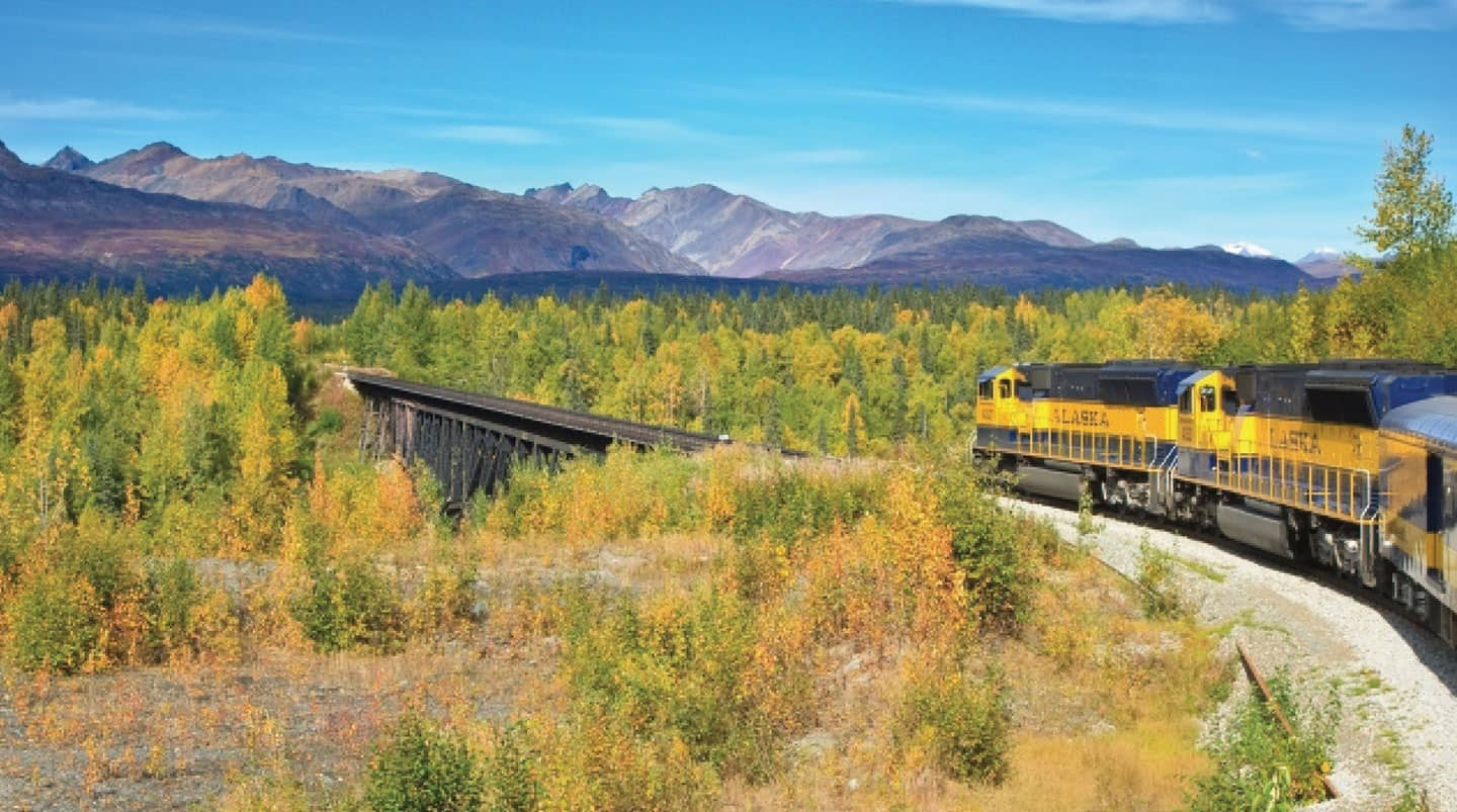 Denali by Rail Explorer - Southbound Cruise Tour