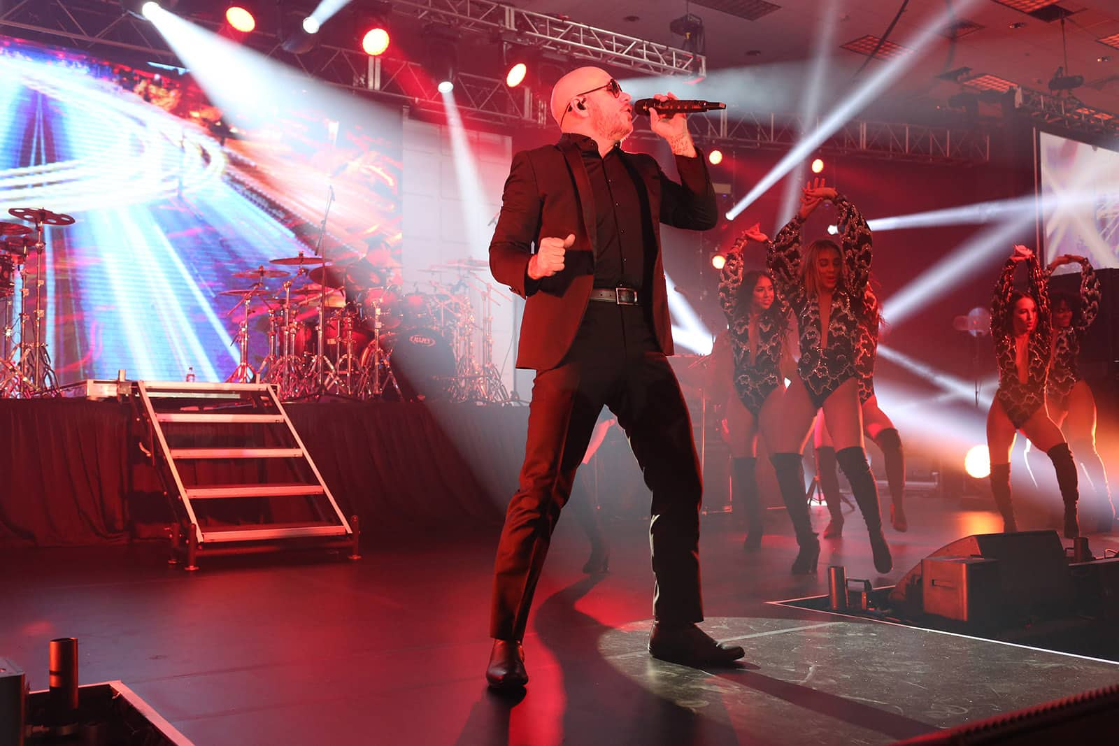 Pitbull Performs at CruiseWorld 2018 Event Hosted by Norwegian