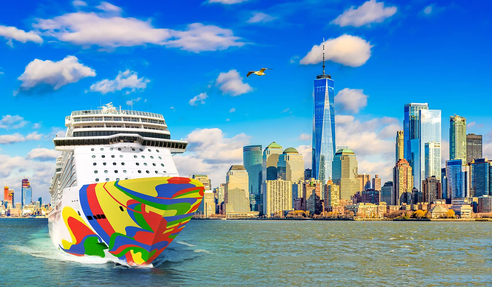 Norwegian Encore in NYC 2019