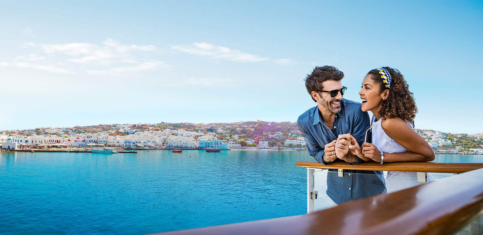 איי יוון: סנטוריני, מיקונוס ופירנצה