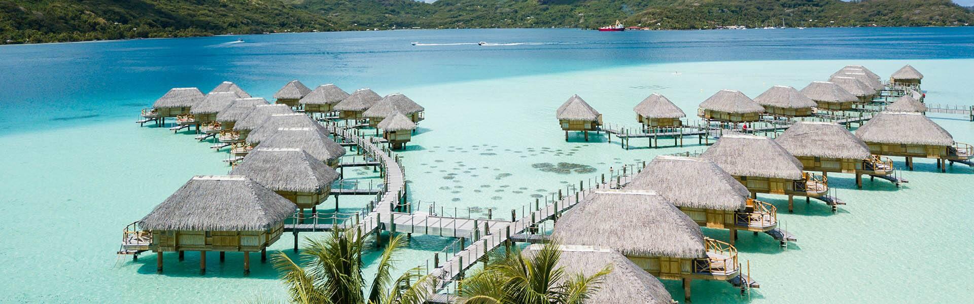 Südpazifik: Bora Bora, Kauaiund Maui nach Papeete