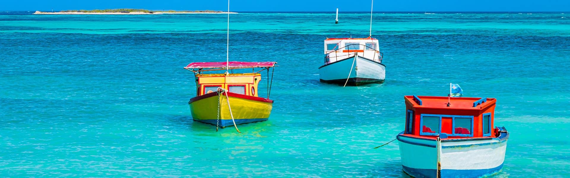 Canal de Panamá: Curazao, Aruba y Cartagena