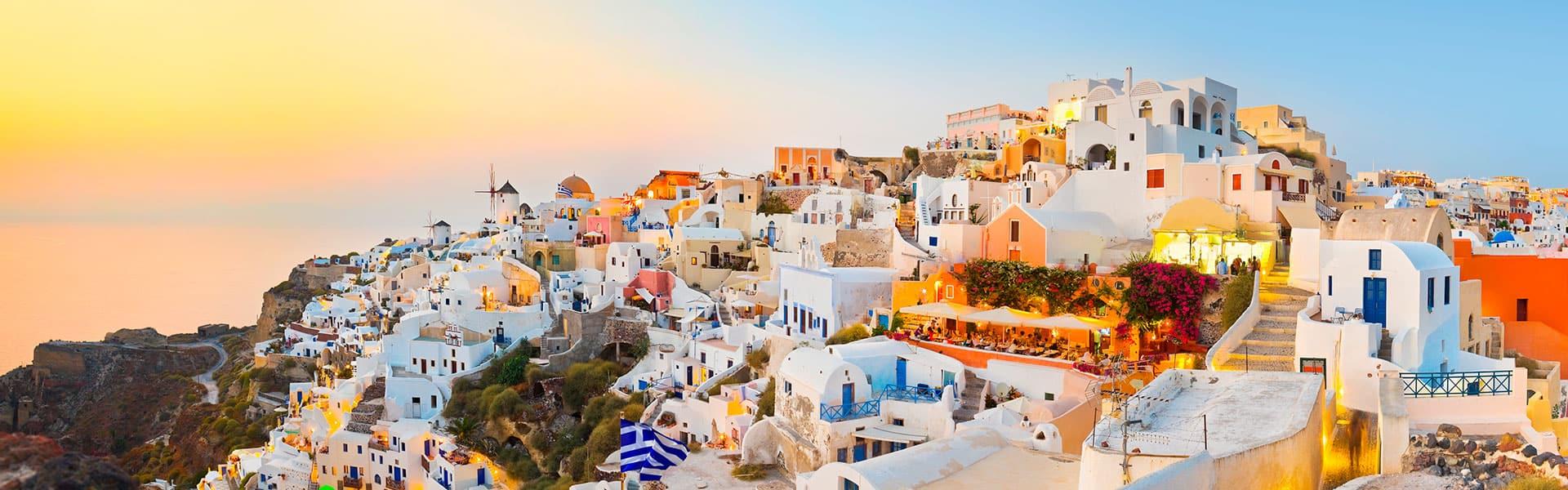 Griechische Inseln: Santorin,Athenund Florenz