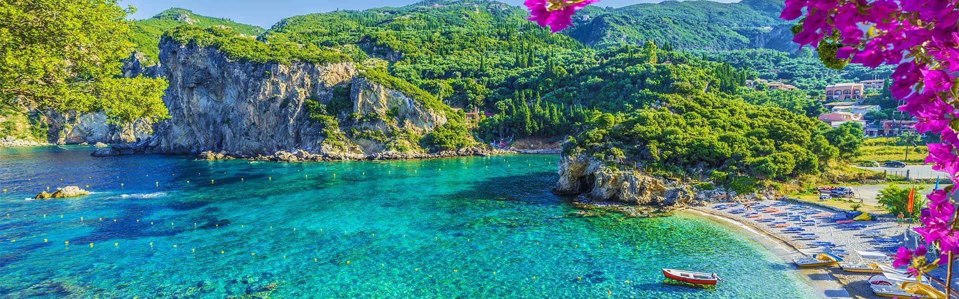 Griechische Inseln und Italien
