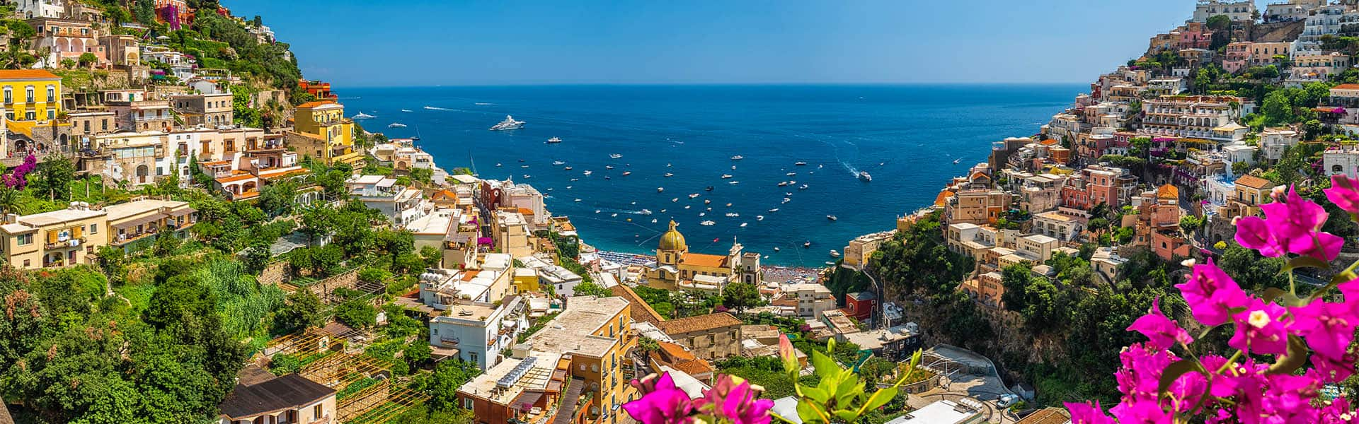 El Mediterráneo: islas griegas e Italia