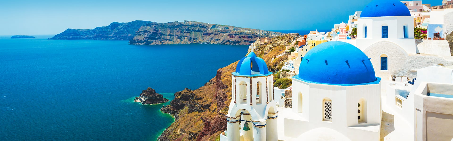 Greek Isles: Santorini, Patmos & Israel