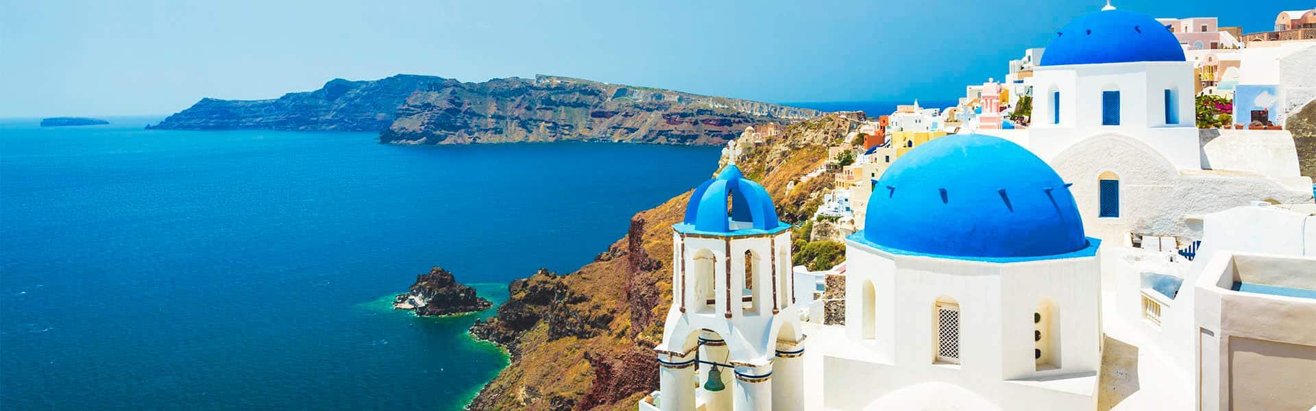 Greek Isles: Santorini, Mykonos & Rhodes
