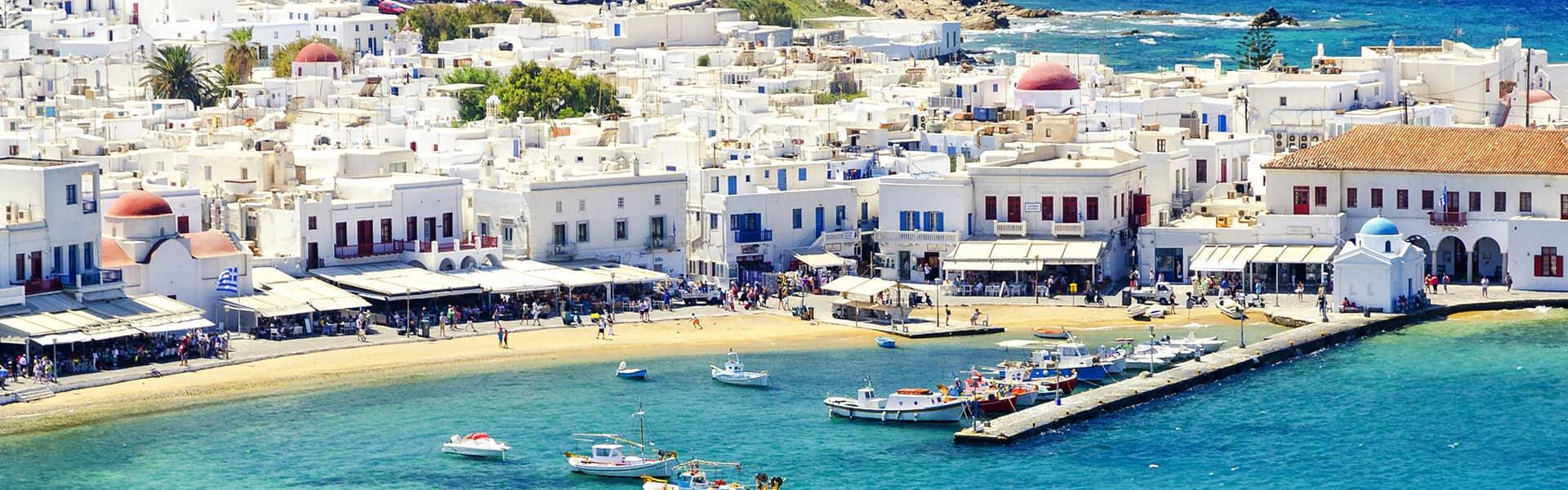Greek Isles: Santorini, Mykonos & Israel