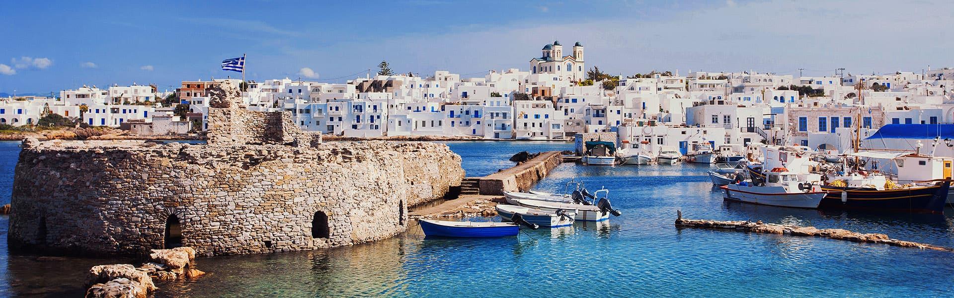 Griechische Inseln: Santorin, Athen und Kroatien nach Venedig