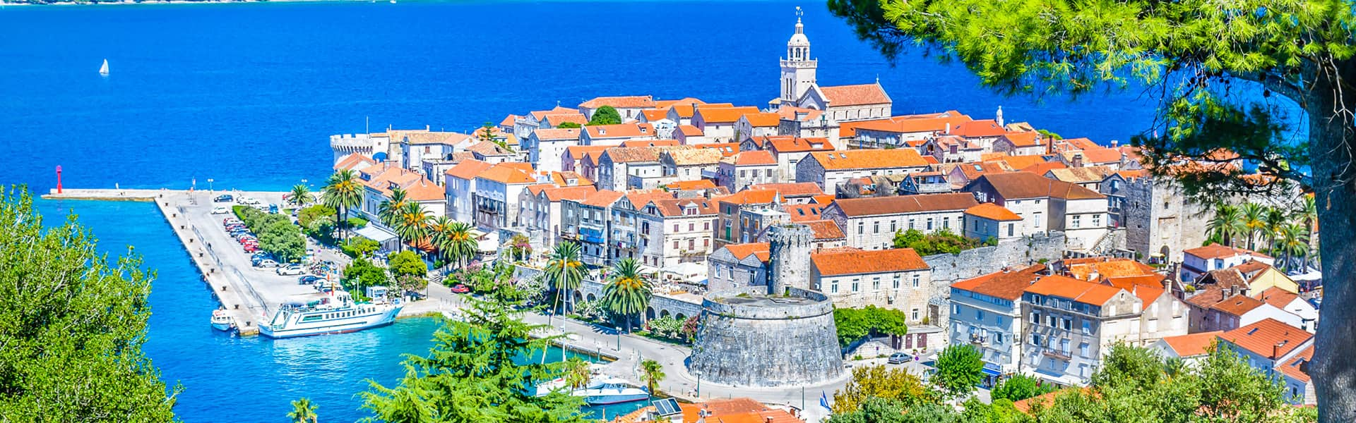 Griechische Inseln:Santorin, Athen und Kroatien